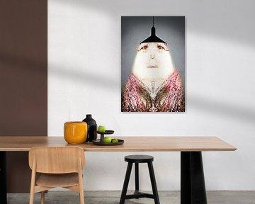 Fantasie Lampenvrouwtje von Gonnie van Hove