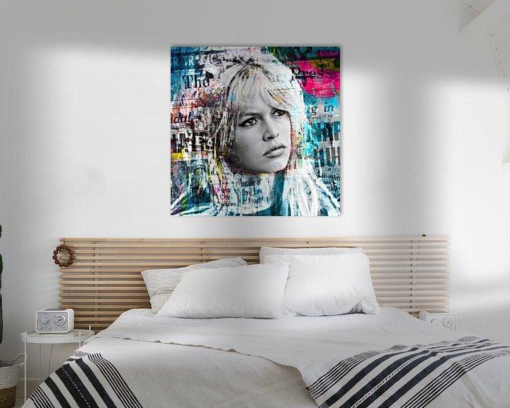 Beispiel: Brigitte Bardot dominates the papers von PictureWork - Digital artist