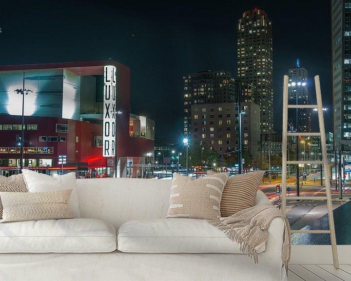 Sfeerimpressie behang: Rotterdam van Jasper Los