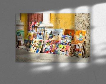Straßenkunst-Gemälde von Ellinor Creation