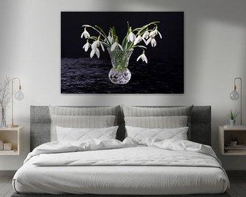 Stilleven bloemen Stilllive Flowers van Coby Vriens