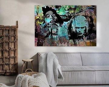 Grunge wall van PictureWork - Digital artist