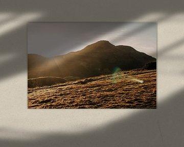 Arthurs Seat Edinburgh tijdens zonsopkomst von Manon Visser