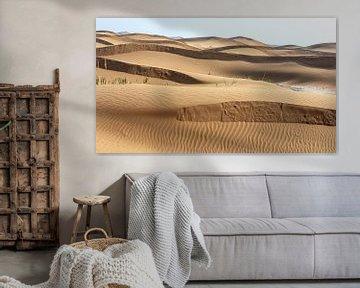 Badain Jaran woestijn (China) van Paul Roholl