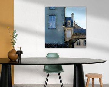 Stadsgezicht in Bayeux, Frankrijk von Petra Cremers
