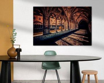 Spannende Schattenspiele auf der Klosterpromenade von ♥️ photoARTwithHEART ♥️