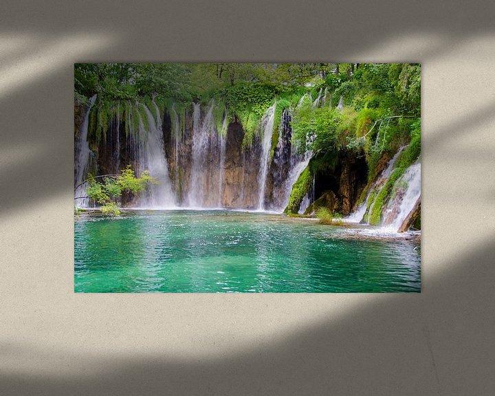 Beispiel: Plitvice-Wasserfälle von Ellinor Creation