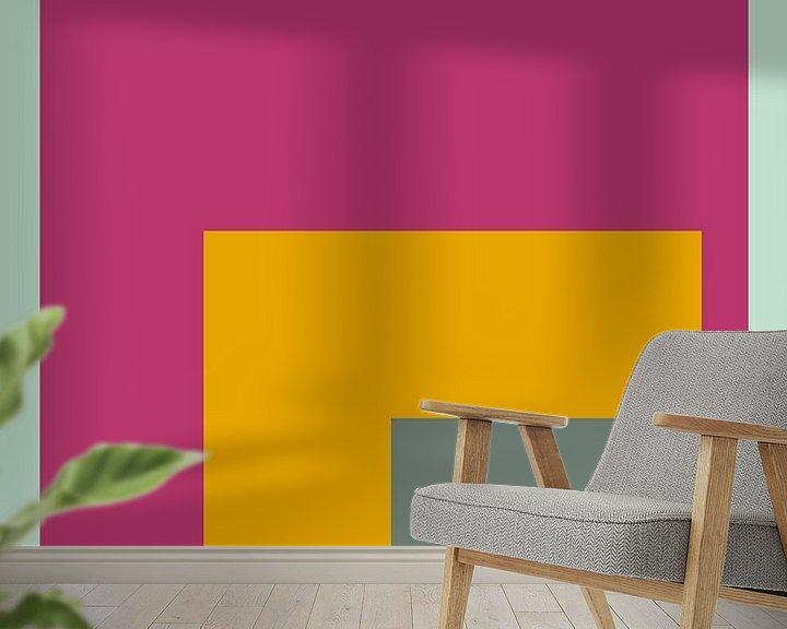 Sfeerimpressie behang: Color Ensemble No. 6 van Pascal Deckarm