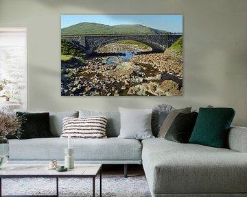 Sligachan Alte Brücke von Babetts Bildergalerie