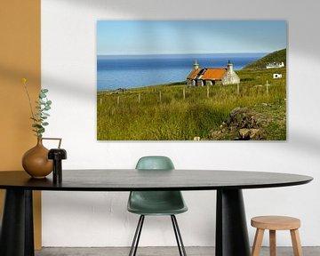 Landschap bij Melvaig in Schotland van Babetts Bildergalerie