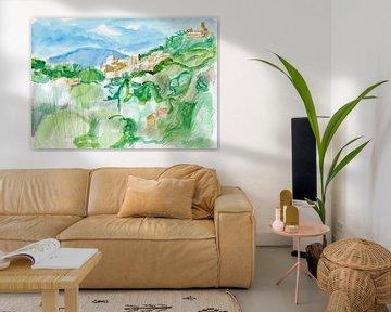 Ungewöhnliches Grün von ART Eva Maria