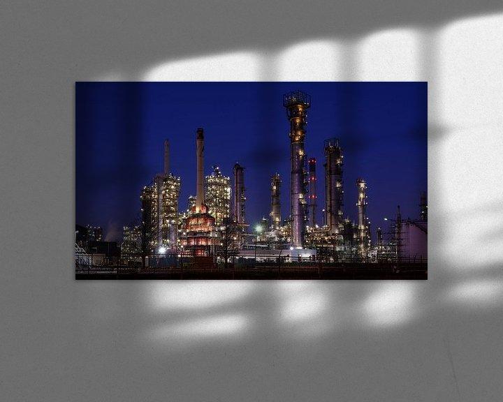 Sfeerimpressie: ExxonMobil Botlek van Nico Roos
