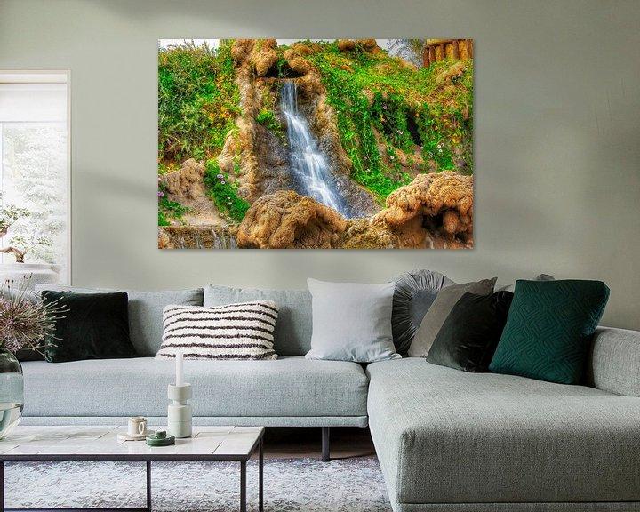 Sfeerimpressie: waterval van Maurice Hoogeboom