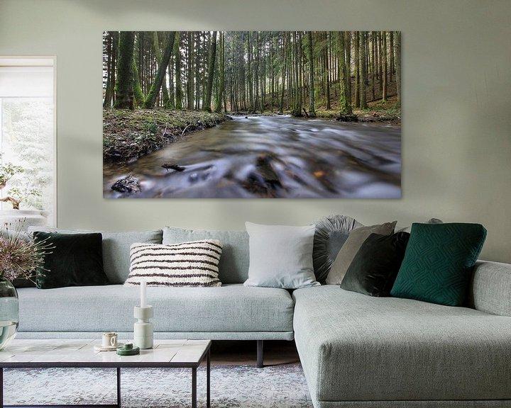 Sfeerimpressie: river van Maurice Hoogeboom