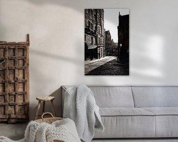 De straten van Edinburgh von Lisa McCague