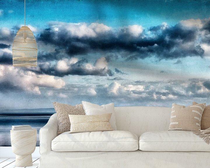 Beispiel fototapete: Wolken über der Ostsee von Heiko Westphalen