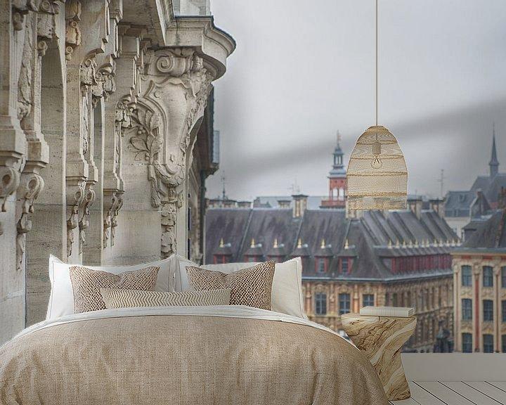 Sfeerimpressie behang: Oud Lille van Mark Bolijn