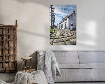 Rue à l'ancienne à Bergen op Zoom sur Mark Bolijn