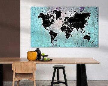 World map light von PictureWork - Digital artist