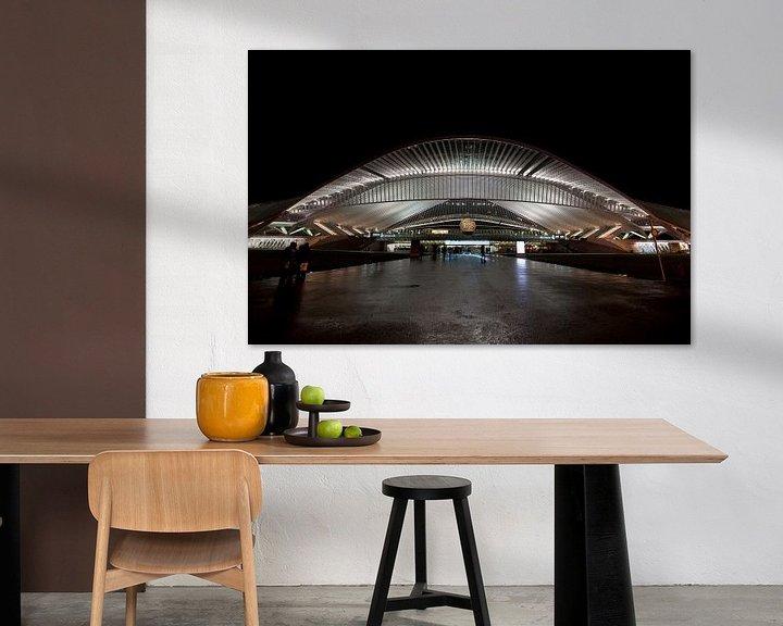 Impression: Station Luik (Liege) Belgie sur Brian Morgan