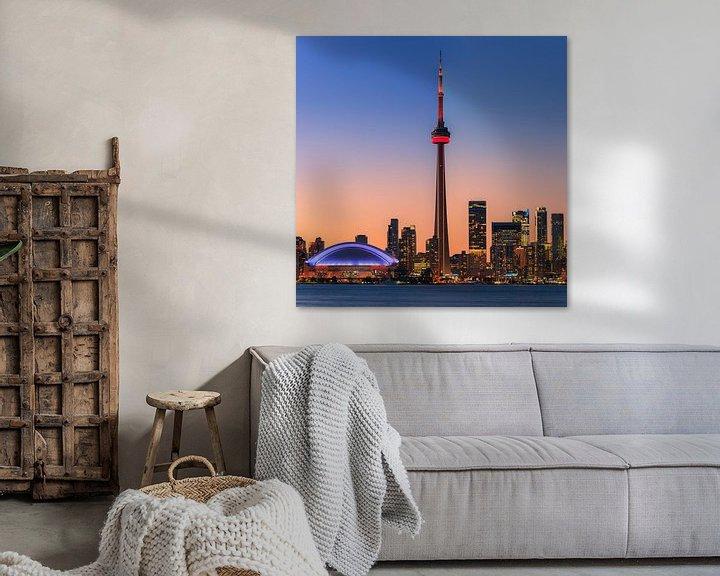 Sfeerimpressie: Toronto Skyline van Henk Meijer Photography