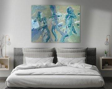 Figuranten von ART Eva Maria