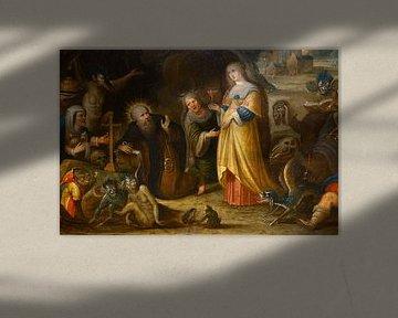 Die Versuchung des Heiligen Antonius, Frans Francken der Ältere