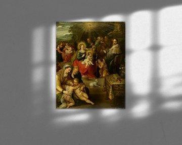 Allegorie des Christuskindes als Lamm Gottes, Frans Francken der Jüngere