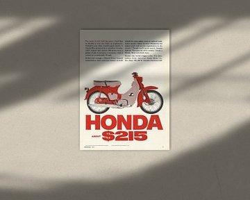 Vintage werbung 1965 HONDA! von Jaap Ros