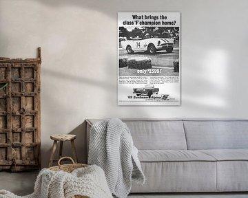 Vintage advertentie '65 Sunbeam Alpine! van Jaap Ros