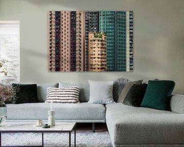 Urban jungle in Hong Kong von Remco Piet
