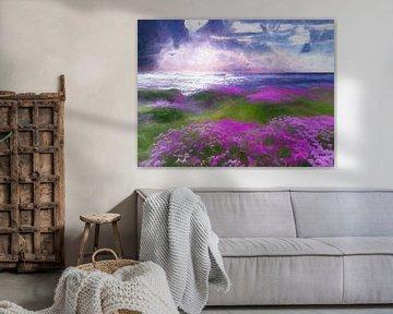 La mer (Pastell) von Andreas Wemmje