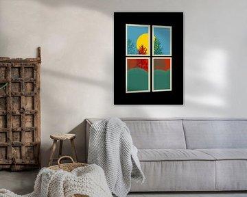 Fenster in die Natur von Marion Tenbergen