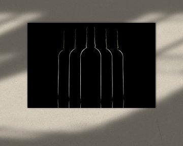 Flessen in low-key von Tanja van Beuningen