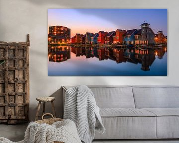 Reitdiepaven, Groningen, Niederlande von Henk Meijer Photography