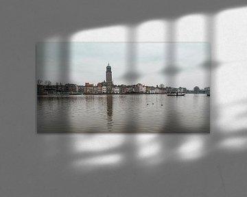 Panorama aanzicht van Deventer