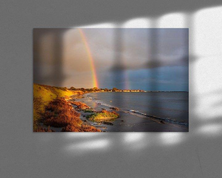 Impression: Ostseeküste bei Klintholm Havn in Dänemark. sur Rico Ködder