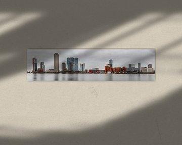 Panorama Kop van Zuid von Jeroen Bukman