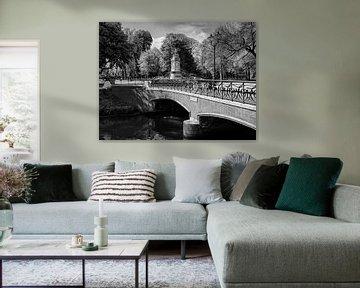 Breda Willemsbrug bij Valkenberg Park van JPWFoto
