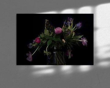 Stilleven met bloemen von Maerten Prins