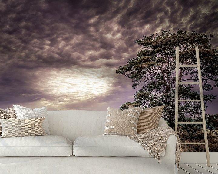 Sfeerimpressie behang: Doorbraak van Sandra Kuijpers