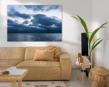 Wolken an der Küste der Ostsee bei Warnemünde von Rico Ködder