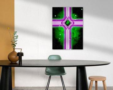 Lilac cross van Leopold Brix