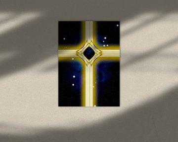 Golden energy cross van Leopold Brix