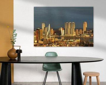 Rotterdam in the golden hour von Ilya Korzelius
