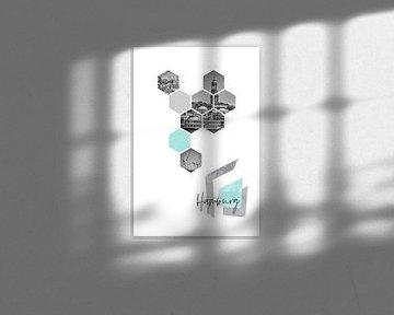 Urban Design HAMBURG van Melanie Viola