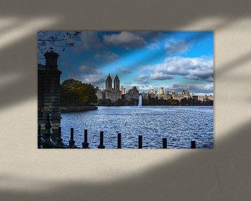 NY Central Park, view to Upper West Side von Jeanette van Starkenburg