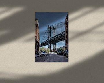 NY Manhattan Bridge von Jeanette van Starkenburg