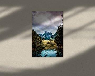 Fairy Landscape - Kandersteg, Zwiterland van Jordy Brada