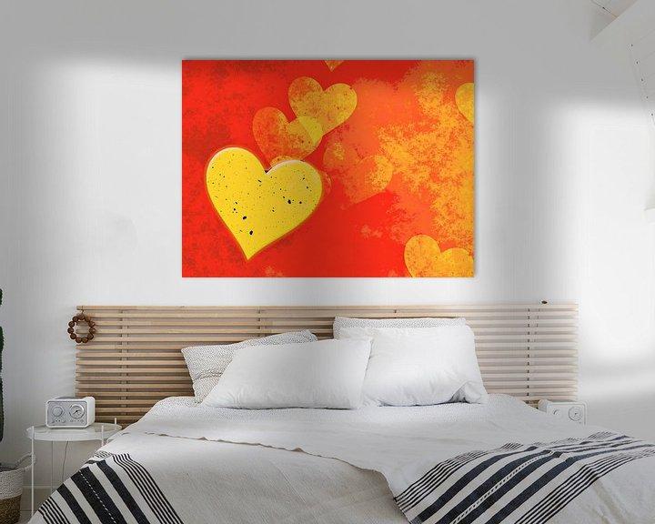 Beispiel: Goldene Herzen von Leopold Brix
